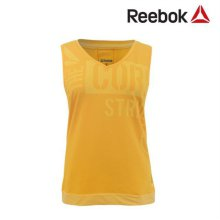[QR코드인증]리복 여성 RF printed tank/ 기능성 민소매 티셔츠 - Z23223 2XS