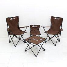 캠핑테이블 의자 트래블 5종세트 ▲조아캠프 트래블5종세트 브라운[CC124]