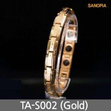 사노피아 게르마늄 티타늄 팔찌TA-G002 (골드 S)