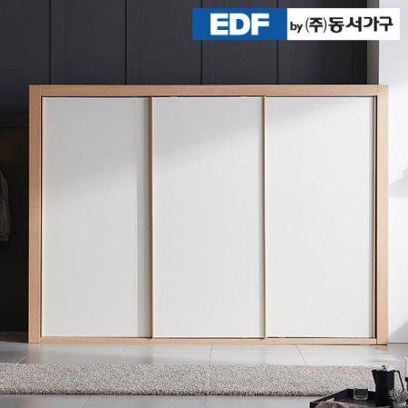디아나 슬라이딩 2400 옷장 DFF369CB _헤링본 아이보리