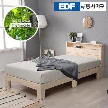 편백나무원목 수납형 SS침대프레임(매트별도) DF636350 _300