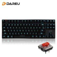 [무료배송쿠폰] EK820 블루투스 겸용 슬림 LED 기계식 키보드 (적축)