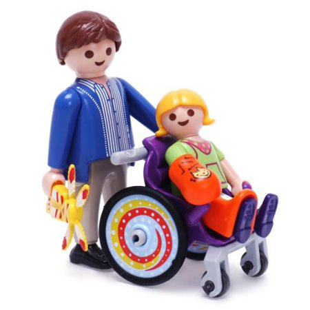 휠체어 탄 아이(6663)