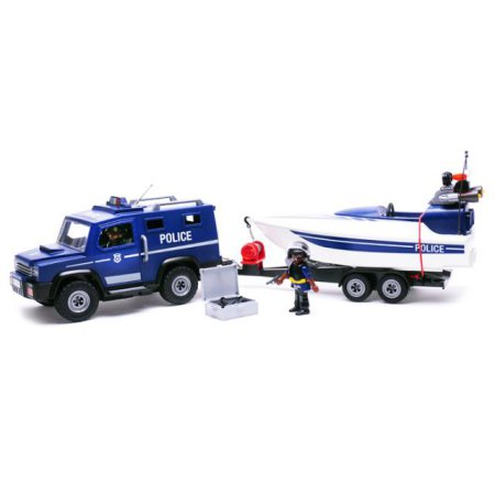 X판매종료X경찰트럭과 스피드보드(5187)