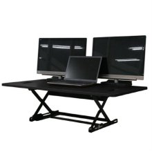 DeskTopDesk 높낮이 조절 스탠딩책상 DTD-L-MBK [몰딩블랙 / 대형 / 표준형]