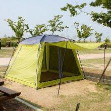 실속형5∼7인용 와이드 캐빈 텐트