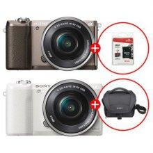 알파 A5100L 미러리스 카메라 렌즈KIT[화이트][본체+16-50mm][정품배터리+가방+SD카드증정]