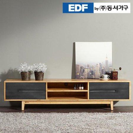 에리 고무나무 원목 거실장-1800 DFF369FD