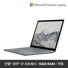 """★10% 학생할인★ Surface Laptop EUP-00021 [i7 16GB/1TB-Platinum / 12.3"""" FHD / Windows 10]"""