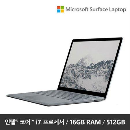 "Surface Laptop  DAL-00081 [7세대 코어 i7 / 16GB / 512GB SSD / 13.5""/ Windows 10]"