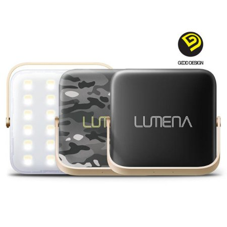 N9-LUMENA 캠핑용 LED랜턴-카모그레이