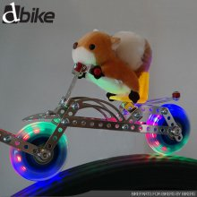 [DBIKE] 캐릭터인형 발광휠 후미등 블루(스티치인형)