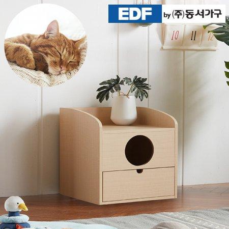 펫츠펀 서랍형 고양이화장실(다리없음) DF637166 _오크