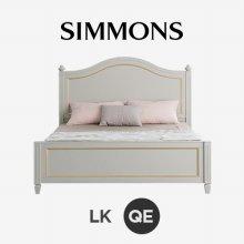 벨로 2B 그레이. N32 (퀸/라지킹) 침대