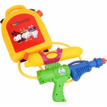 과일토끼 배낭 물총