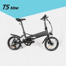 모토벨로 T5 미니 전기자전거 그레이 PAS 전용