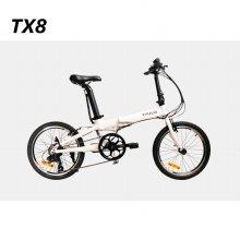 모토벨로 TX8 전기자전거 화이트 PAS 전용