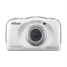 컴팩트 방수카메라 COOLPIX-W100 [본체/화이트]