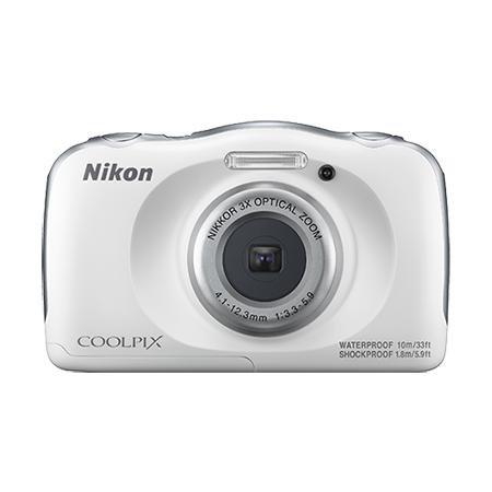 컴팩트 방수 카메라 COOLPIX-W100 [ 본체단품 / 화이트 / 방수 10m]