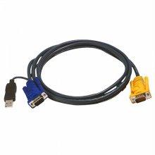 USB KVM 케이블 6m 2L-5206UP