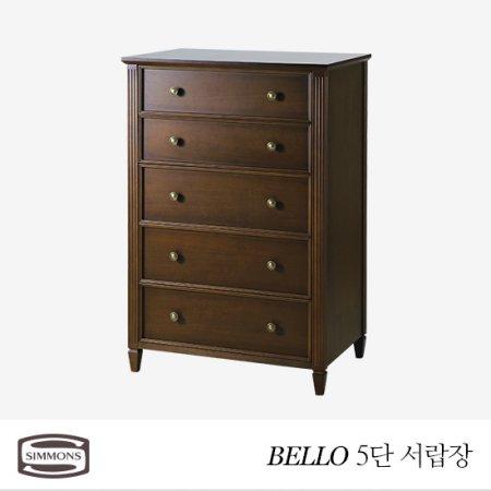 BELLO 5단 서랍장(연월넛) _연월넛