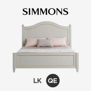 벨로 2A 그레이. 뷰티레스트 스위트. 퀸 침대