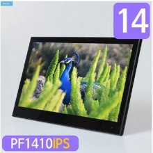 14 IPS패널 광시야각 디지털액자 PF1410IPS 블랙