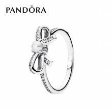 [판도라] 반지 Bow Silver Ring 190971P 50