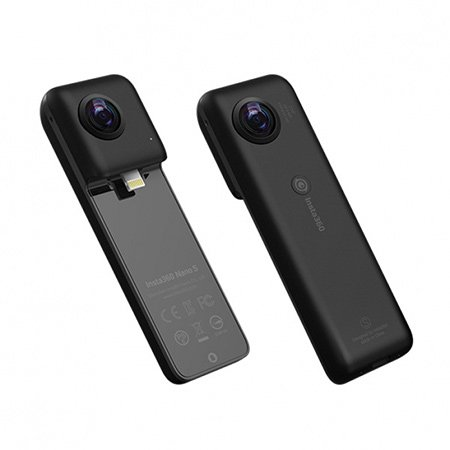 Insta360 NanoS 나노S [ 아이폰 360˚ 촬영 / 4K 화질 / 영상의 흔들림 최소화 ]