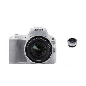 DSLR 카메라 EOS-200D [ 화이트 / 본체 + 18-55mm + 40mm / 16GB메모리+가방증정 ]