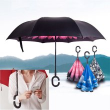빗물 걱정없는 가꾸로 장우산 _별하늘