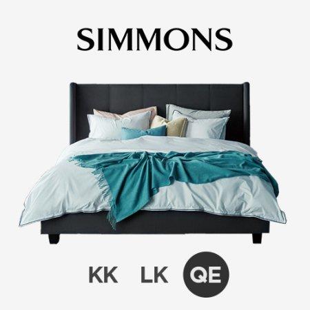 라비에 A 슬레이트. 뷰티레스트 스위트. 퀸 침대