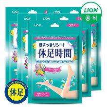 (무료배송)휴족시간 쿨링시트 6매 x 5팩