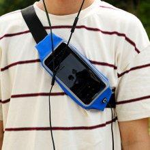 아웃도어 캠핑 휴대폰수납백1개(색상랜덤)