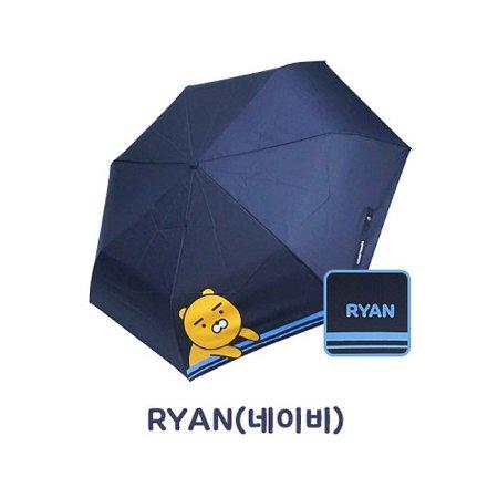 쁘띠 3단우산 HUKTU30009 라이언(네이비)