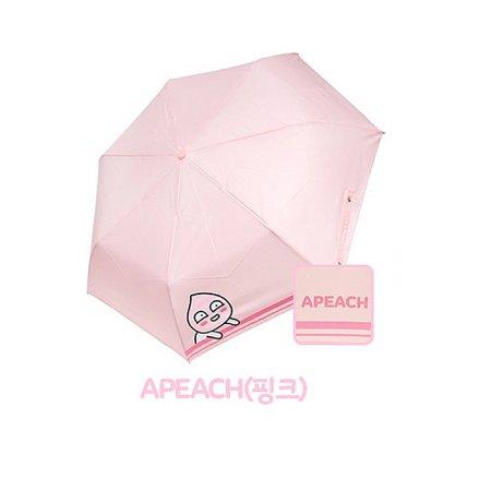 쁘띠 3단우산 HUKTU30009 어피치(핑크)