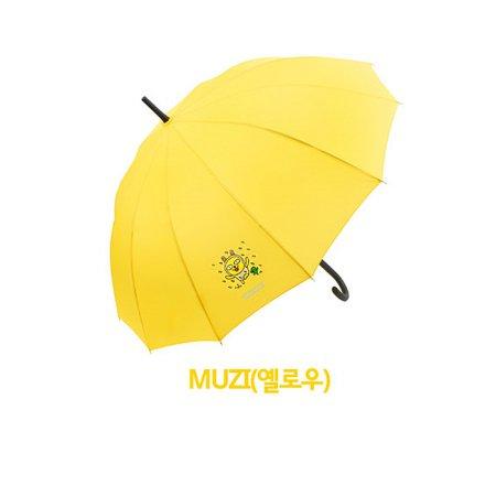 12K 장우산 EUKTU10001~4 무지(옐로우)
