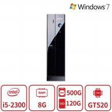 코어i5 듀얼스토리지 멀티테스킹 슬림 데스크탑 Z4시리즈 [8G/SSD120G+HDD500G/GT520] 리퍼