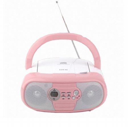포터블 CD플레이어 PINGKY-303 라디오 AUX