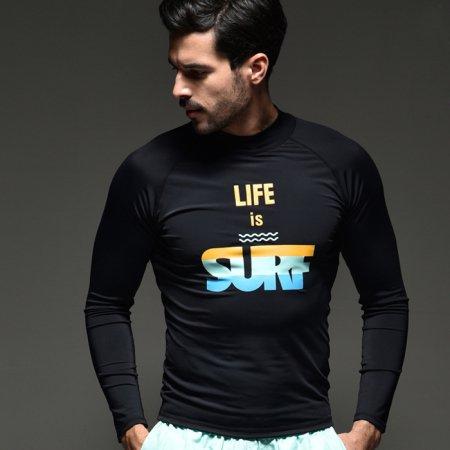 SURF 블루하와이 래쉬가드 오렌지 L 남성