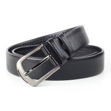 실속형클래식 모던 패션 벨트(블랙) (112cm)
