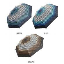 58스트라이프 그라데이션 완전자동우산 GUGLU70029 브라운