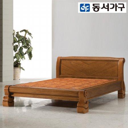 다솜 황토 퀸 흙침대(황토볼보료) DF909082 _브라운