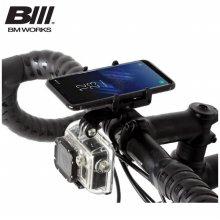 비엠웍스 2018 스마트폰 자전거 거치대 슬림6 CNC PRO _블랙