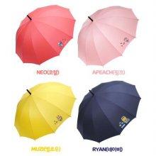 쁘띠 장우산 HUKTU10021 무지(옐로우)
