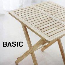 원목 접이식 카페(폴딩)테이블 basic