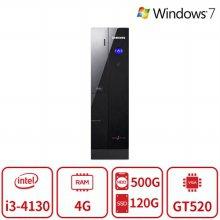 4세대 코어i3 듀얼스토리지 게이밍 슬림 데스크탑 DB400S3A [4G/SSD120G+HDD500G/GT520] 리퍼
