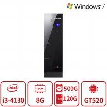 4세대 코어i3 듀얼스토리지 게이밍 슬림 데스크탑 DB400S3A [8G/SSD120G+HDD500G/GT520] 리퍼
