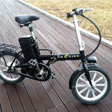 접이식 국민 전기자전거 패션 16 블랙(리튬이온배터리)