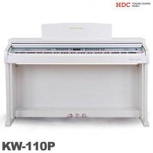 [무료배송] 영창 디지털피아노 KW-110P 업그레이드 (화이트)전자피아노